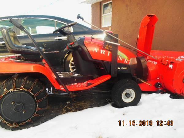 Photo Ariens Riding blowerlawnmower - $1600 (Green Bay)