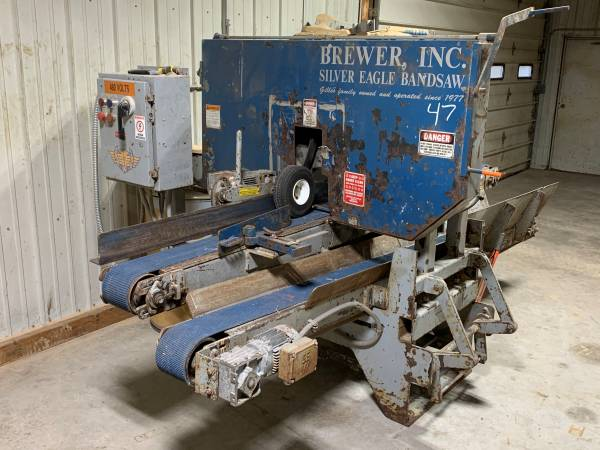 Photo Brewer Silver Eagle Resaw with power return - $6900
