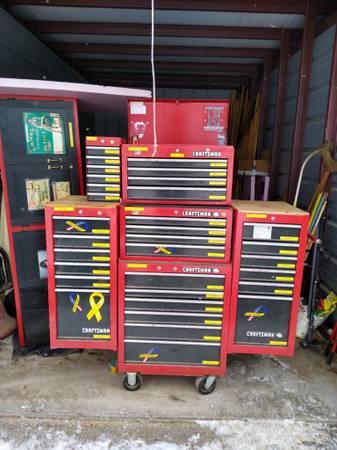 Photo CRAFTSMAN 6-BOX, 32-DRAWER TOOL CHEST - $725 (Rhinelander)