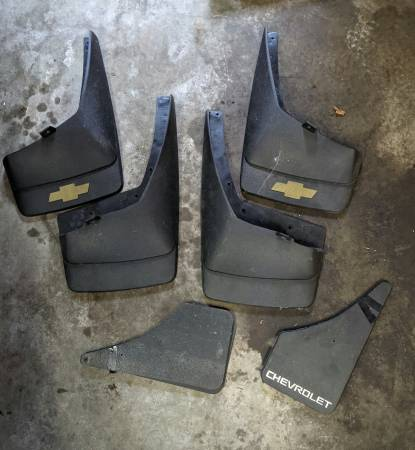 Photo Chevy Mud Flaps - $5 (Green Bay)