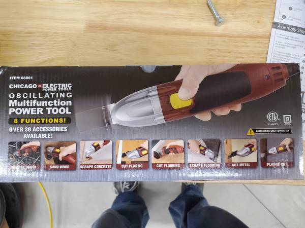 Photo Chicago Electric Oscilating Multifunction Power tool