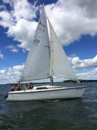 Photo Hunter Small Cruising Sailboat 2339 - $4,950 (Madison)