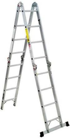 Photo Keller 1639 Aluminum Type IA Folding Multi-Position Ladder - $85 (Manitowoc)