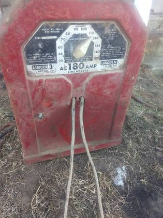Photo Lincoln welder - $150 (Pound)