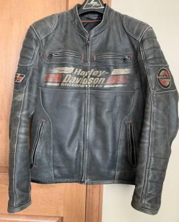 Photo Mens Harley Davidson Jacket - $1 (Shawano)