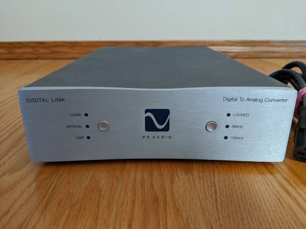 Photo PS Audio Digital Link III Stereo DAC - $300 (Green Bay)