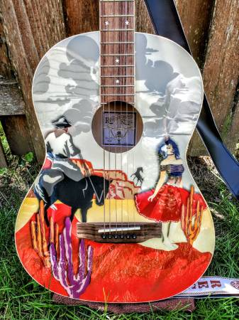 Photo Recording King Limited Edition Guitar - $225 (De Pere)