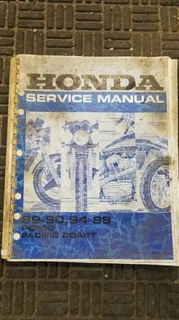 Photo Shop Manuals, Honda PC800, Chilton TruckVan, Haynes Diesel Ford 7.3 - $5 (De Pere)