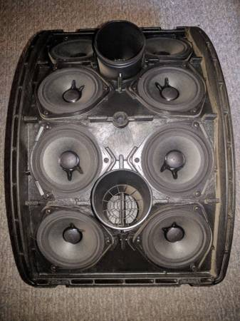 Photo Two Bose 802 series II speakers encased - $600 (Depere Area)