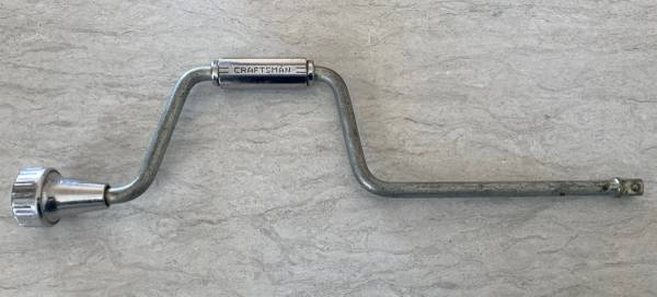 Photo Vintage Craftsman 18quot Speed Wrench - Hand Crank Handle with 12quot Drive - $15 (Green Bay)
