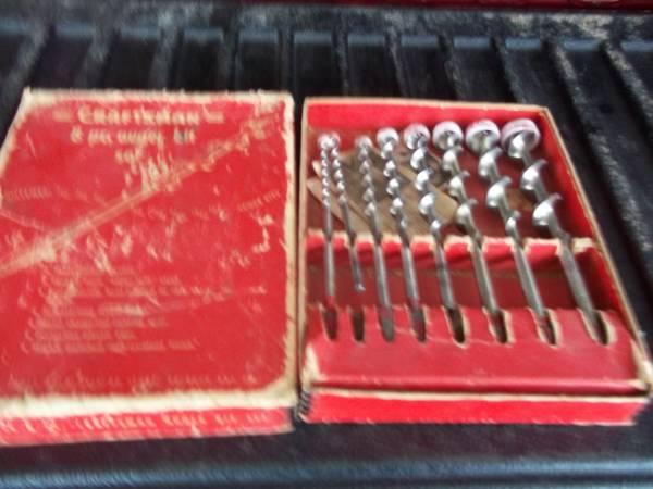 Photo Vintage Craftsman Twist Drill Bit Set - $50 (New Franken, WI)
