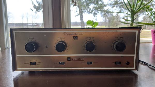 Photo Vintage Tube Amp Knight audio 724A - $175 (Bailey39s Harbor)