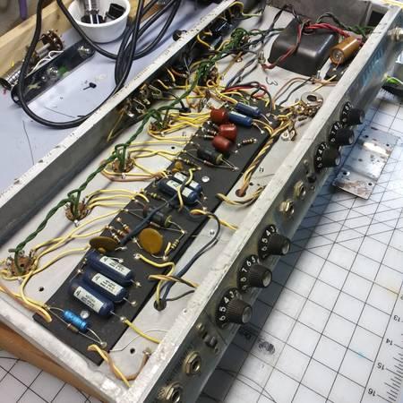 Photo Wanted Old Broken Vacuum Tube Guitar Amps (Marinette)