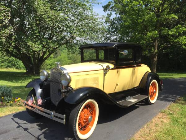 Photo 1930 FORD MODEL A RUMBLE SEAT COUPE - $12900 (FIELDALE)