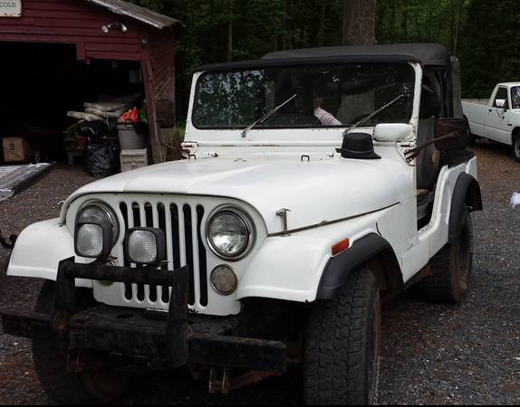 Photo 1980 Jeep CJ5 - $3500 (Asheboro NC)