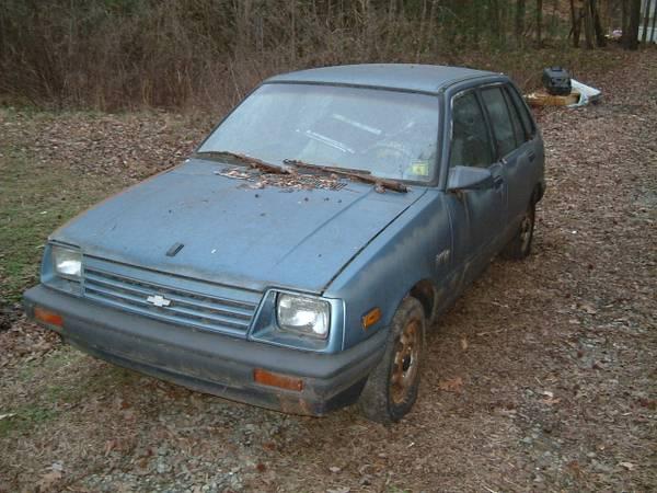 Photo 1985 chevy sprint plus - $175 (lexington tyro area) - $175 (lexington TYRO)