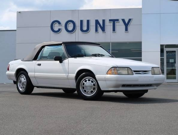 Photo 1993 Ford Mustang LX Convertible Only 101k Miles (Call Us Now For Special Pricing)