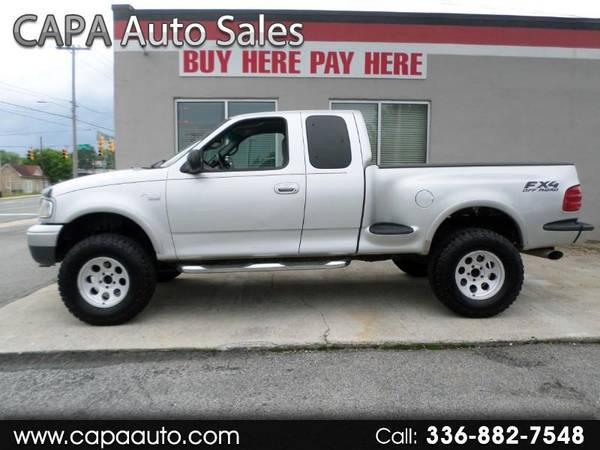Photo 2000 Ford F-150 XL SuperCab Flareside 4WD BUY HERE PAY HERE - $7995 (High Point, NC)