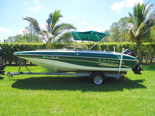 Photo 2003 Tracker Tahoe 202 Deck Boat
