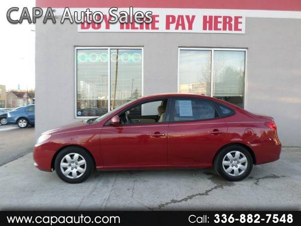 Photo 2008 Hyundai Elantra SE BUY HERE PAY HERE - $4995 (High Point, NC)