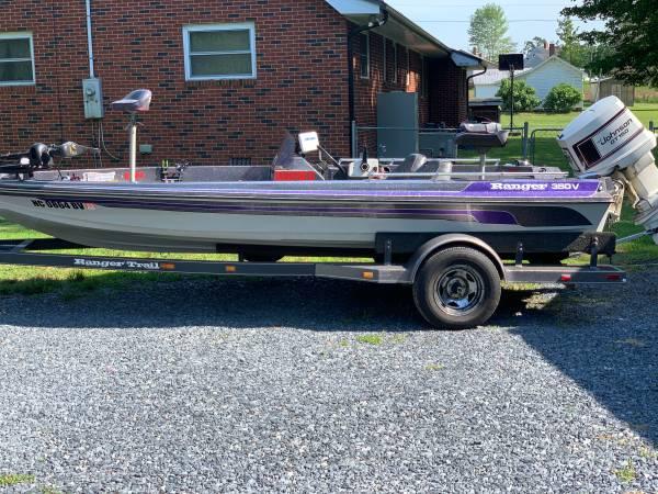Photo 87 350V Ranger Boat - $7,500 (Asheboro)