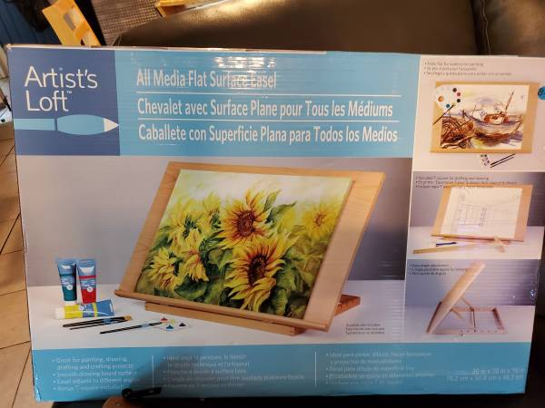 Photo Artist Loft All Media Flat Surface Easel - $50 (Greensboro)
