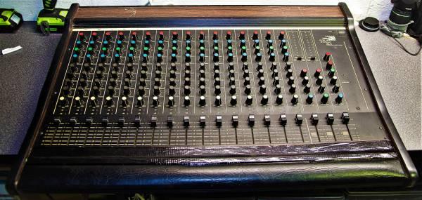 Photo Bi 1621 Mixer Old School Beautiful Cheap For Live Music - $60 (Lexington NC 27295)
