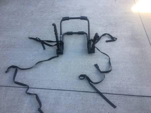 Photo Bike Rack Carrier - $25 (Oak ridge)
