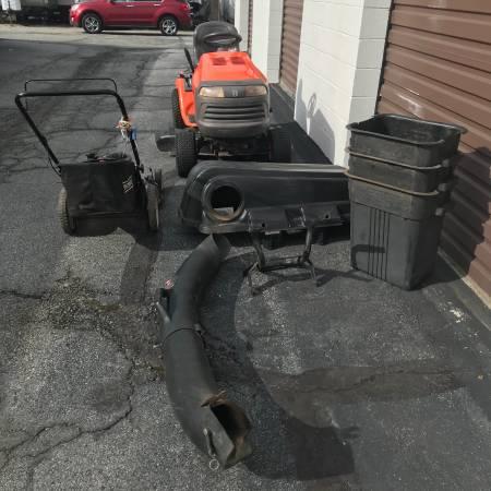 Photo Craftsman 3 bin bagging system - $150 (Greensboro Nc)