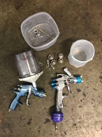 Photo DevilBliss HVLP Paint Gun Set - $200 (Greensboro)