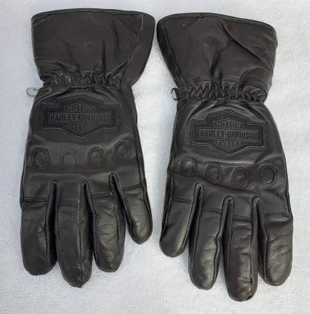 Photo Harley-Davidson Women39s Gloves, Black Leather Medium, L.New Conditon - $26 (Kernersville)