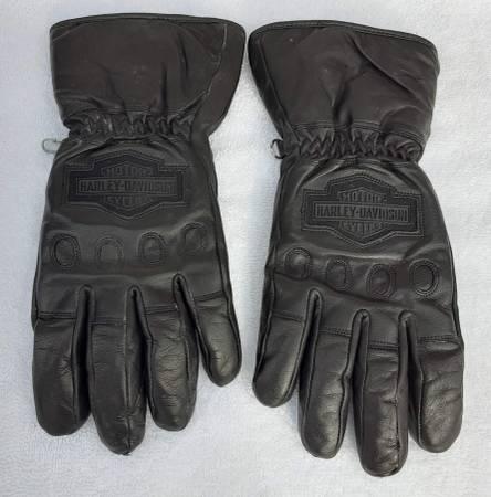 Photo Harley-Davidson Women39s Gloves, Black Leather Medium, L.New Conditon - $25 (Kernersville)