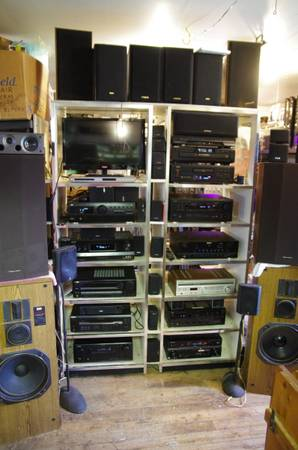 Photo Home Stereo  Home Theater Receiver CHEAP JVC Sony Pioneer Kenwood - $75 (Lexington NC)