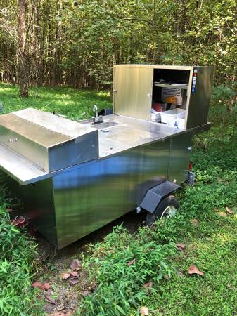 Photo Hot dog cart for sale - $2900 (Mcleansville)