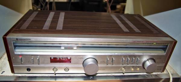 Photo Kenwood KR-720 Old School Silver Face Receiver 1970s Audiophile - $175 (Lexington NC)
