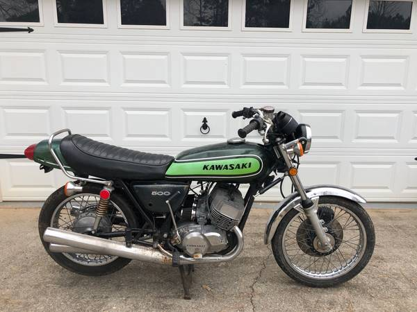 Photo Looking to purchase old motorcycles - $5,000 (Charlotte)
