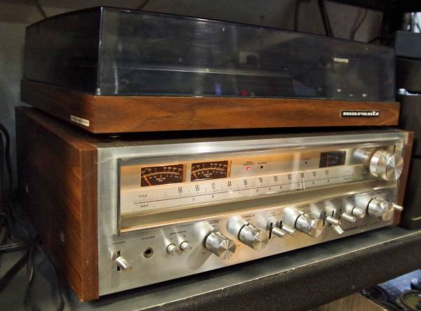 Photo Old School Pioneer SX-780 Tube Amp Receiver VERY LOUD - $350 (Lexington NC)