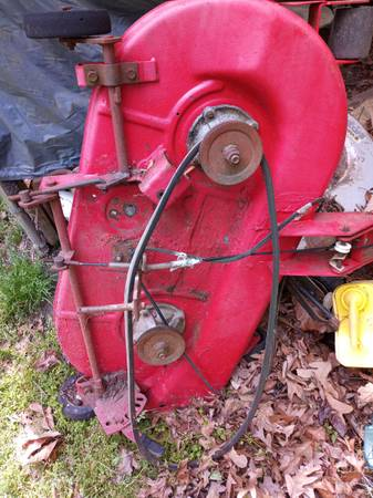 Photo Old wheel horse deck - $40 (Greensboro)