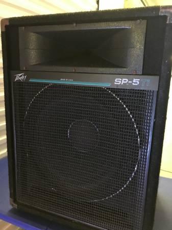 Photo Peavy SP-5 Speaker - $125 (Greensboro)