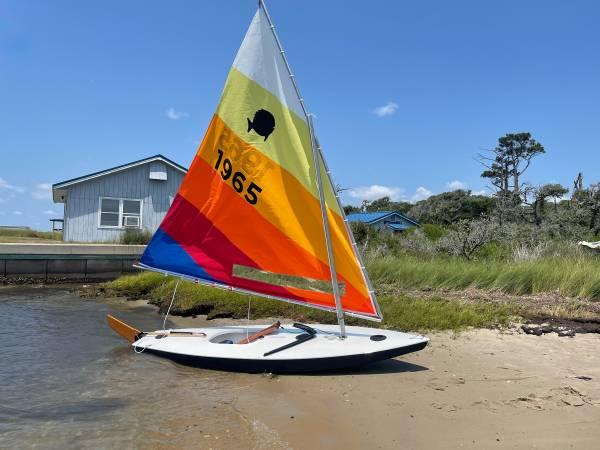 Photo Restored 1968 Sunfish Sailboat - $3,000 (Jamestown)