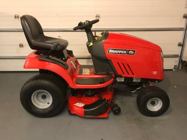 Photo Snapper 42quot Riding Lawn Mower - $700 (Summerfield)