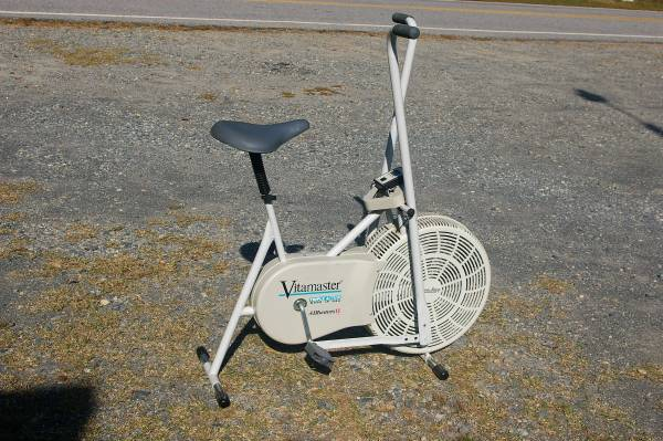VitaMaster Fan Blowing EXERCISE BIKE stay Cool While You ...