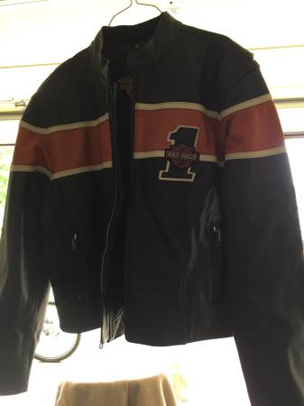Photo Womens Harley Davidson riding jacket - $200