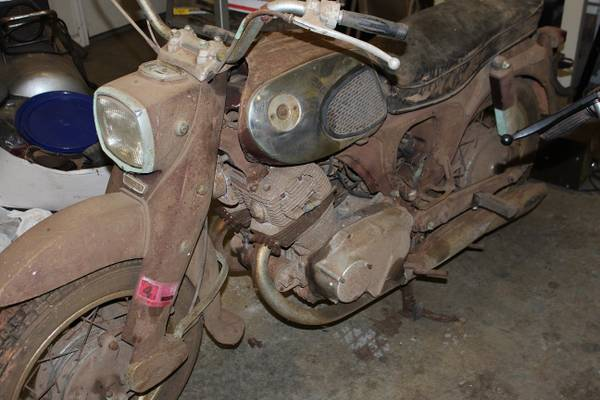 Photo 1965 Honda CB 305 Dream - $850 (Spartanburg)