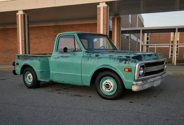 Photo 1969 Chevy C10 Stepside - $11500 (Anderson)