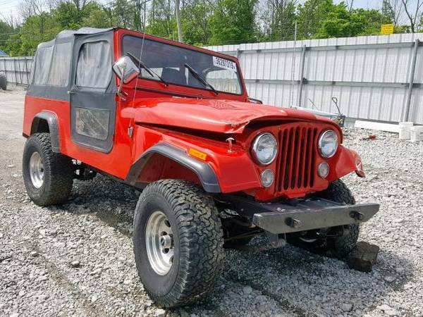 Photo 1983 JEEP SCRAMBLER CJ8 Scrambler Project - $8900 (Seneca)