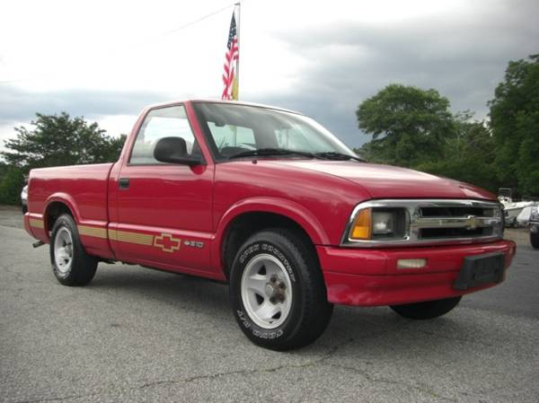 Photo 1995 CHEVROLET S10 LS - V6, 1-OWNER - $4500 (SIMPSONVILLE)