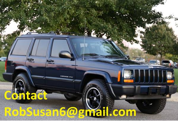 Photo 2000 Jeep XJ SPORT Cherokee 4WD, - $900 (Woodruff)