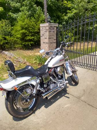Photo 95 HARLEY DYNA LOWRIDER CLEAN CUSTOM BUILT BIKE - $4,950 (Greenville)