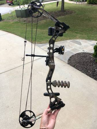 Photo Bear LH youth bow - $75 (Simpsonville)